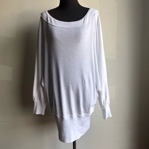 Free Prople sz M cotton knit sweater dress